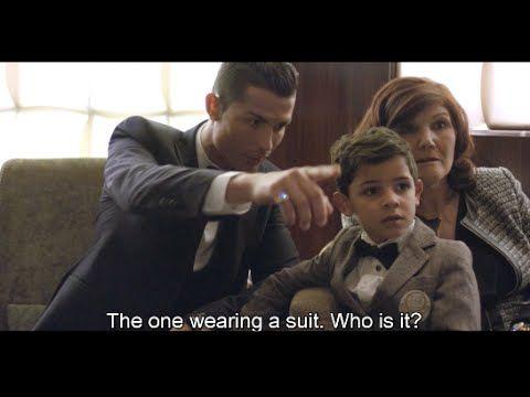 Cristiano Ronaldo tells his son to say hello to Lionel Messi 2015 HD