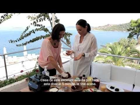 Andreea Marin: Detoxifierea - Dulciuri raw-vegan fara zahar - YouTube