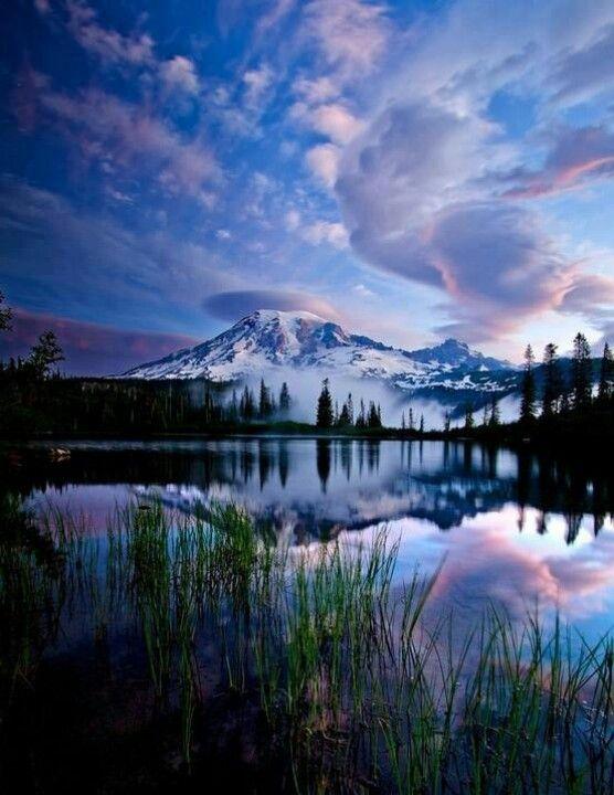 Rainier National Park, Washington state :)