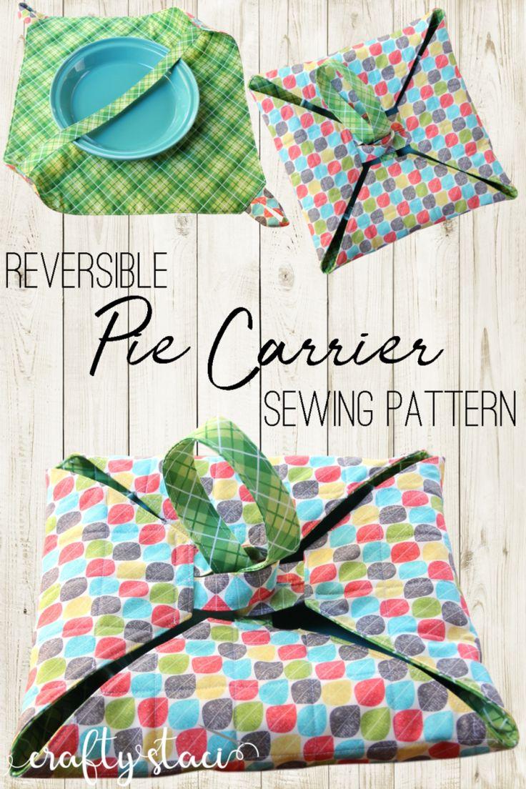 Reversible Pie Carrier Sewing Pattern – PDF downloadBrenda Fricke