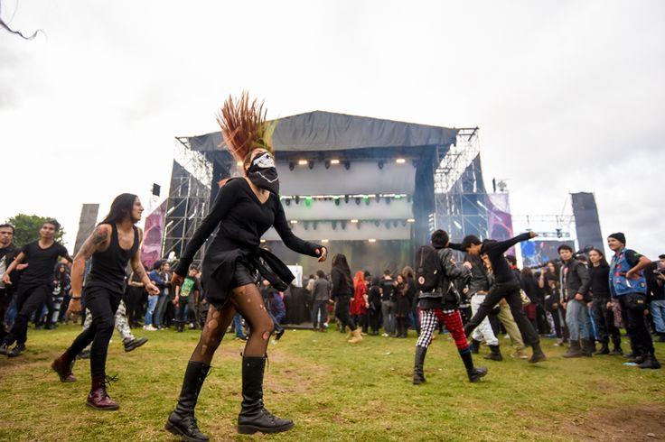 Chicas metaleras en Rock al Parque: las más oscuras y estilosas | Shock.co