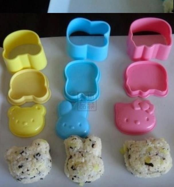 Bento - Rice Mold Hello kitty set