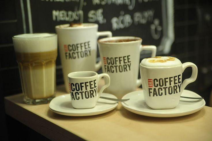 Menu gdyńskiej kawiarni The Coffee Factory
