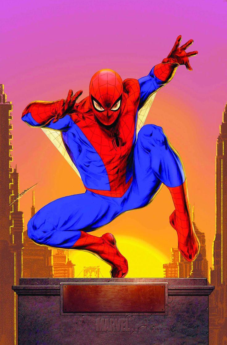 (Amazing Spider-Man Vol.1 #631 Cover) By: Doug Braithwaite. ÅWESOMENESS!!!™ ÅÅÅ+ (NO MARVEL BANNER, BRIGHTER COLOURS!!)