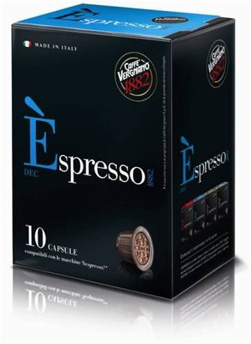 Caffe Vergnano spresso Decaf 3 Packs x 10 Capsules -- Click image for more details. (This is an affiliate link and I receive a commission for the sales)