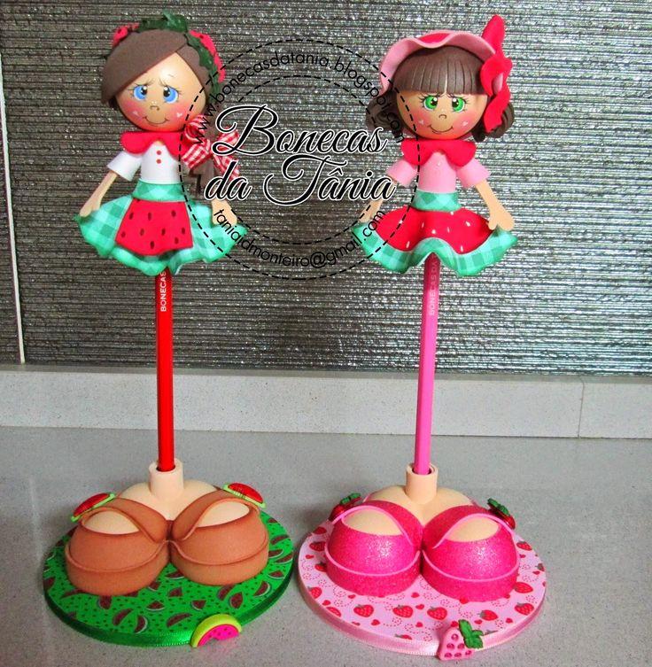 Bonecas da Tânia: Trabalhos Personalizados