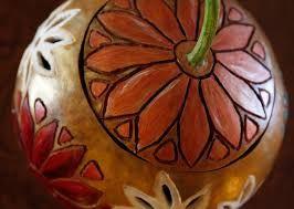 Resultado de imagen para gourd art techniques