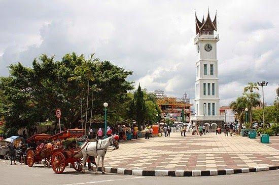 Jam Gadang, In Bukittinggi, West Sumatera, Indonesia Jam Gadang is the name for the clock tower located in the center of Bukittingg...