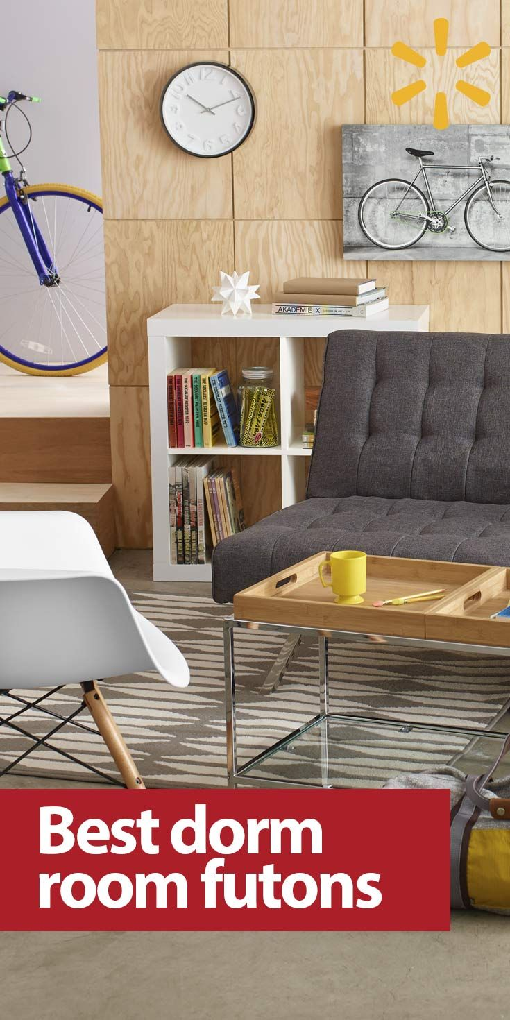 a futon or lofted bed is a college dorm room furniture essential  it gives you 76 best back to college images on pinterest   back to college      rh   pinterest