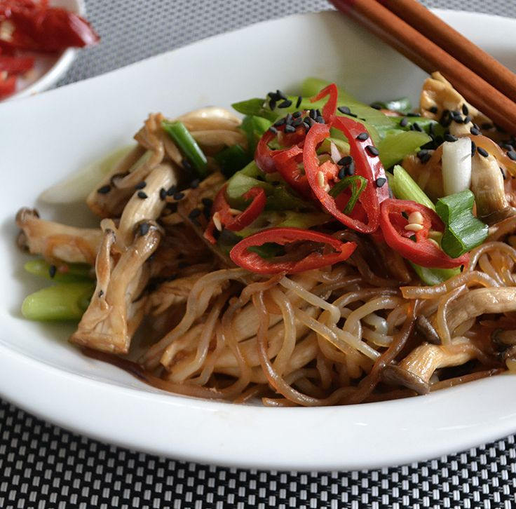 Teriyaki Chicken & Mushroom Stir Fry