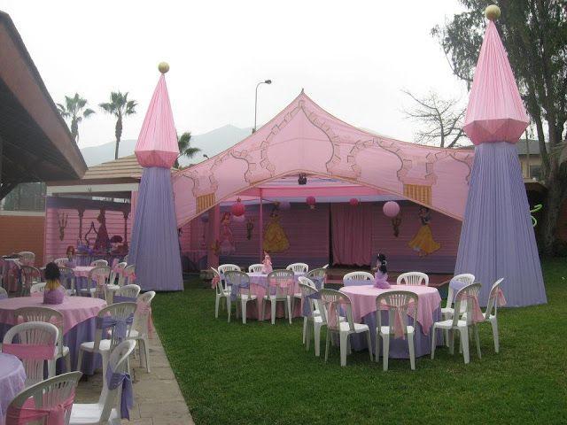 Fiesta infantil de princesas decoracion en fiestas for Decoracion de pinatas infantiles