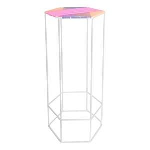 Hexagon Table XL Pink