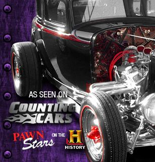Las Vegas Custom Hot Rods & Choppers - Count's Kustoms - As Seen on