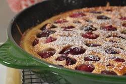 Cherry Clafoutis Recipe Dessert this week--bringing a little bit of France to KY.
