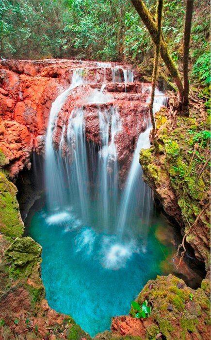 Monkey's Hole Waterfalls, Brazil..