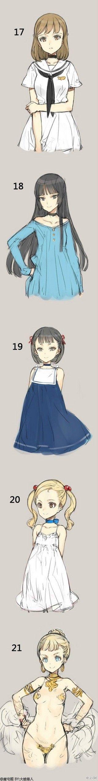 Character Design Quarterly 4 : 猪豚先生采集到插画 anime and manga pinterest character