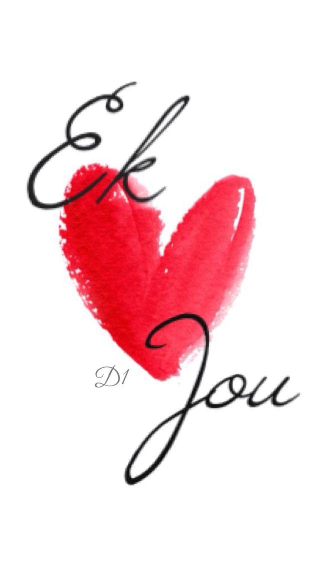 Ek lief jou
