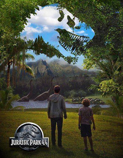 Amazing Jurassic World poster by Jurassic Park 4.4