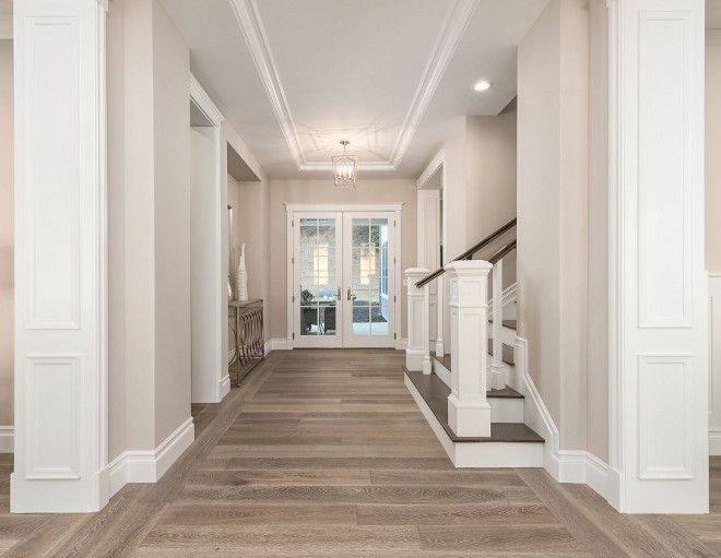 Hardwood Flooring: DuChateau Vernal Como. Isn't it gorgeous? Newly Built Hamptons Style Home #hamptonsstyle