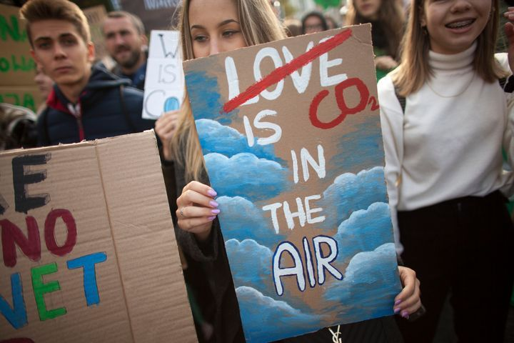 The Best Signs From The Climate Change Rallies Around The World Huffpost Climate Change Poster Protest Signs Climate Change