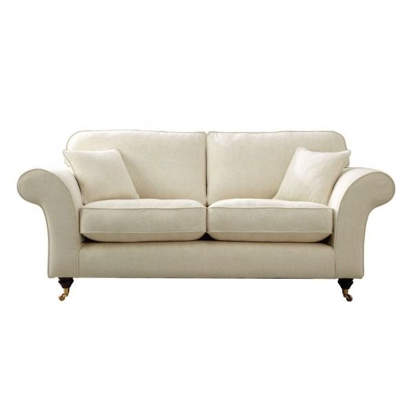 Ascot Traditional 3 Seater Sofa, available in beautiful mocha, cream, wine & caramel. Hand-made in the UK, with 5 Year Warranty. Order online today.