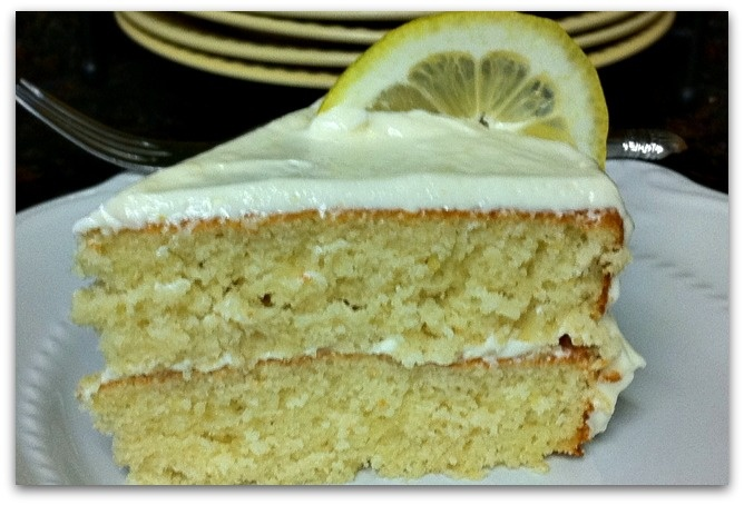 Lemonade Layer Cake - lots of people say this is really good, I guess I will know once I make it