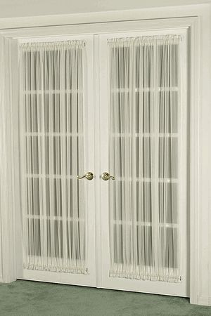 French Door Curtain Sheers (door Curtains)