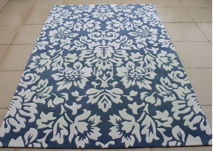Import 100% pura lana della nuova zelanda manuale ricamato tappeto salotto, camera da letto, tavolo da tè, moquette