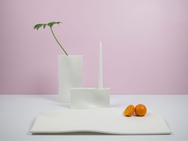 Tabletop Accessories Made of Corian by Justin Bailey Design
