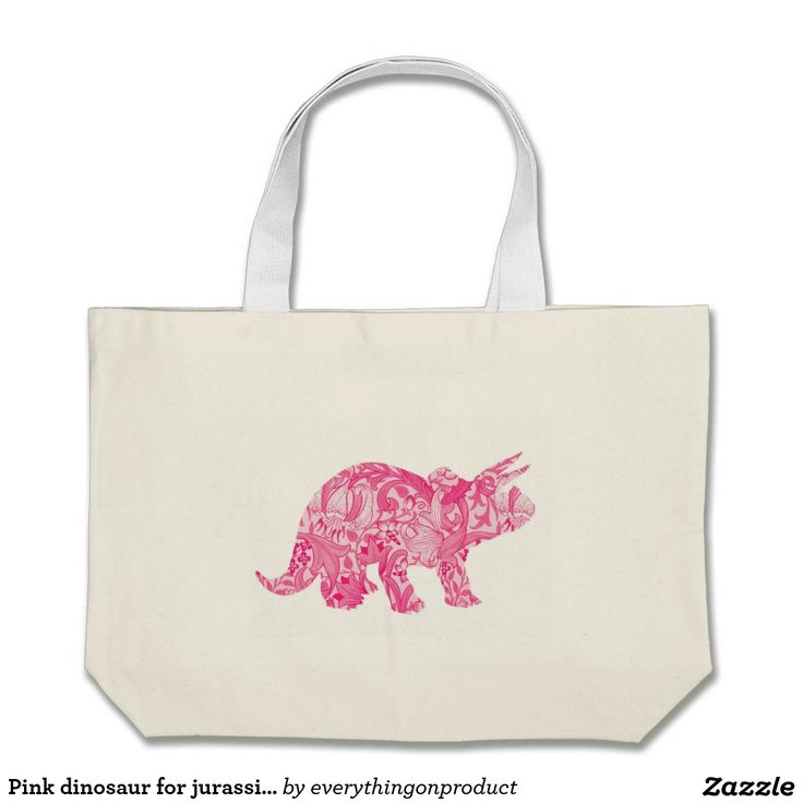 Pink dinosaur for jurassic park and ancient world