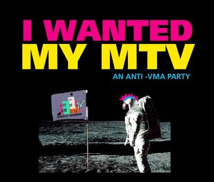 Last Exit is whipping up some MTV themed cocktails for our anti-VMA party on Sunday, including a Moonmantini and a Martha Quinn and Tonic!