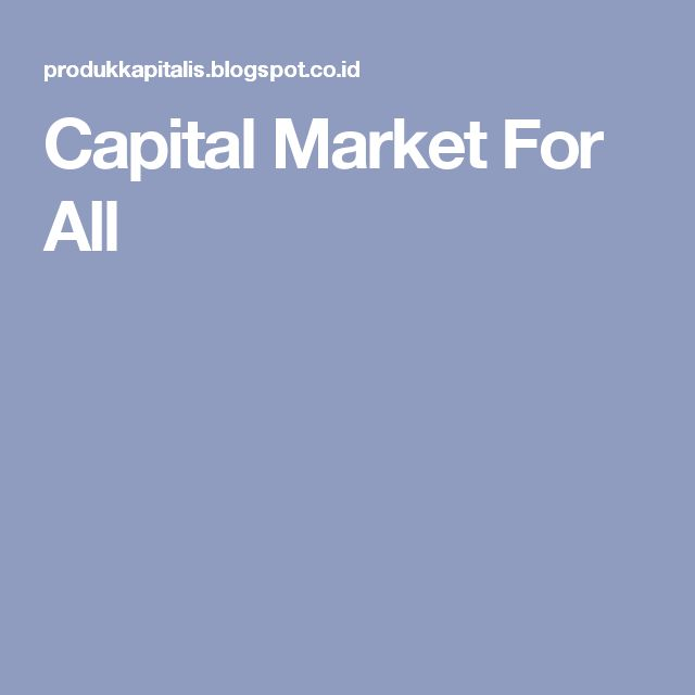 Capital Market For All