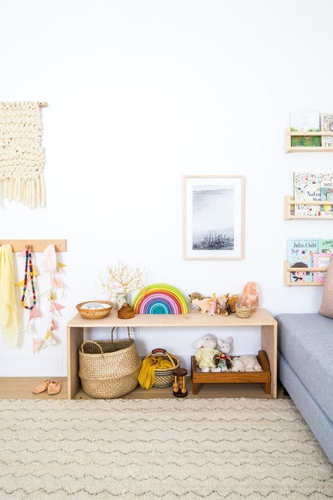 Louella's neutral, nature-inspired girl's nursery | Nursery + Kids Room Decor | 100 Layer Cakelet