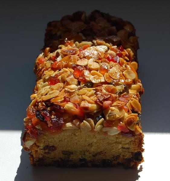 Le vrai cake anglais aux fruits confits