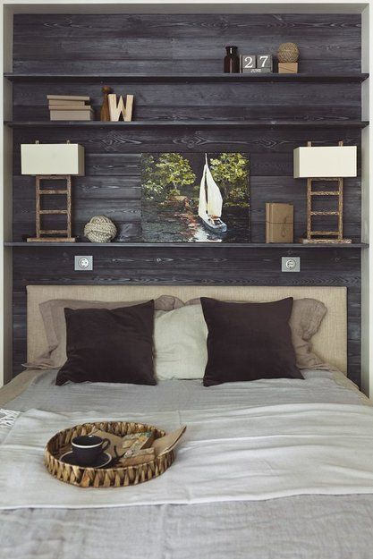 Фотография - Спальня, стиль: Лофт, Скандинавский | InMyRoom.ru