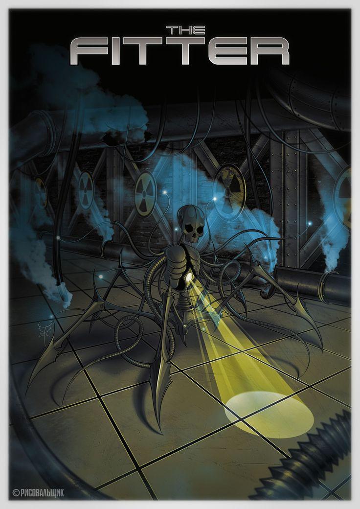 [THE FITTER] #stas_filinov #fitter #radiation #lightinthedark #rebellionartworks #artworks #digiart #drawing #graphicdesign #designforbands #designformusicians #darkart #covers #рисовальщик #обложки #рисунок #плакат #дизайндлямузыкантов #темноеискусство #радиация #лучсветавотьме #монтер