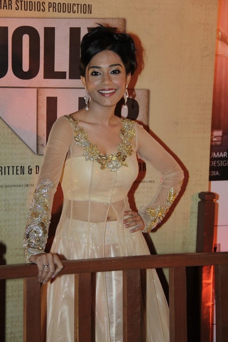 Amrita Rao at Movie Jolly LLB Premiere.