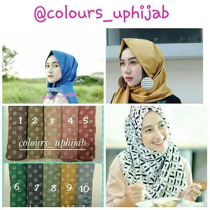 assalamualaikum.... yuk tampil cantik dan modis dengan @colours_uphijab  karna hanya di @colours_uphijab pusatnya hijab premium terlengkap dan berkualitas  segera order di line : @colours_uphijab wa : 08563543111