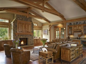 Western+home+decorating+ideas | ... Living Room Design By Denver