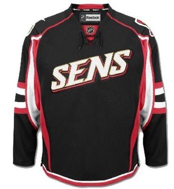 Ottawa Senators 3rd jersey.