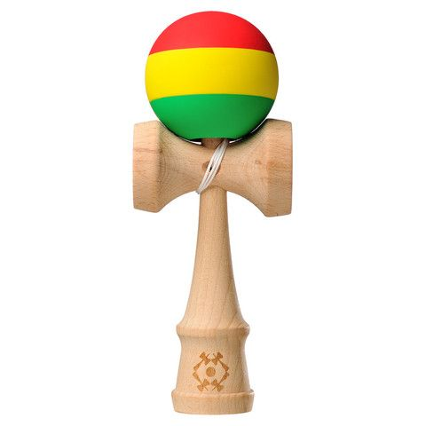 Kendama USA - Tribute Rasta - Red Yellow Green