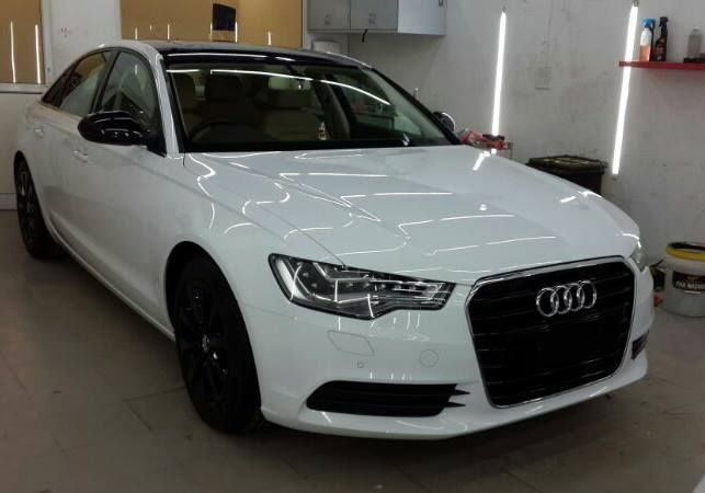 matte black audi a6. audi a6 opti coatedroof and side view mirrors wrapped in gloss black alloys painted auto detailing pinterest cars matte