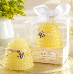 'Meant to Bee' Honey Scented Beehive Candles (Set of 4)