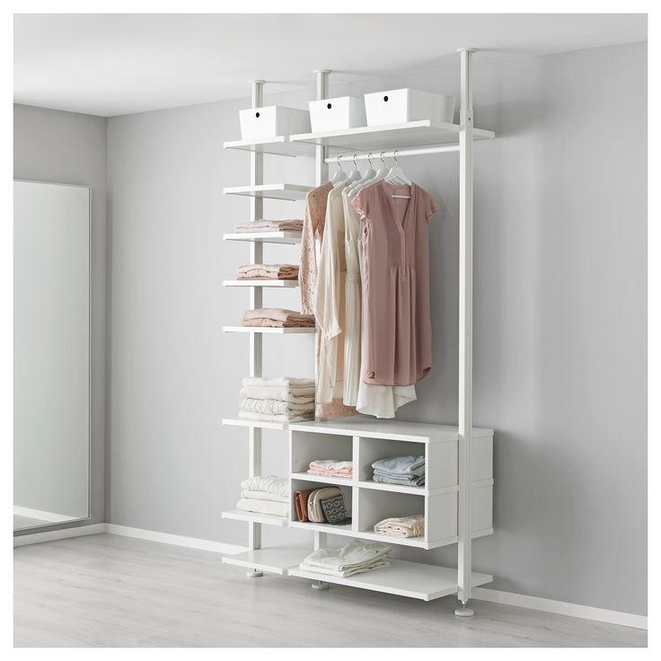 Elvarli Post White In 2019 Ikea Room Divider Curtain
