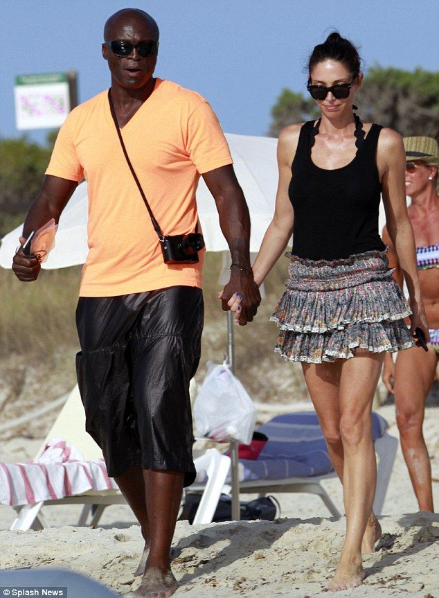 Happy couple:News of the pair's romance first emerged recently when Woman's Day magazine ...