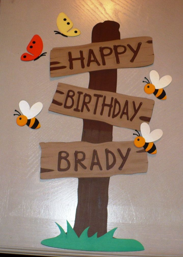 so easy to make out of wood for a baby shower