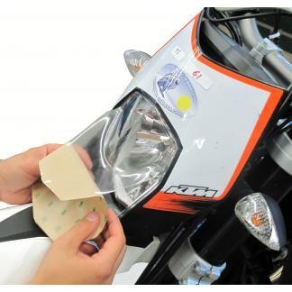 Light Saver Headlight Guard (BMW K1200GT, '06-'08 & K1300GT, '09-'10)