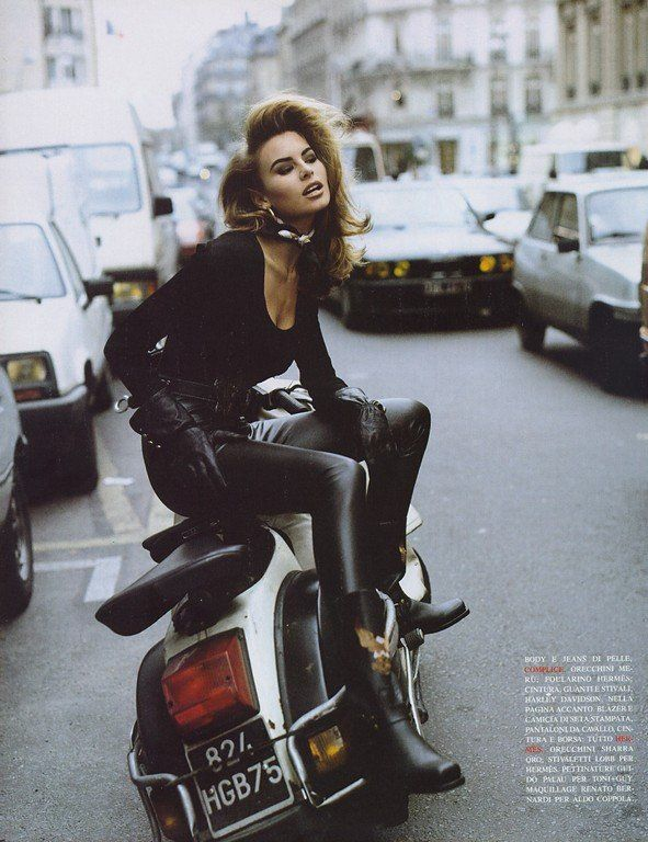 Niki Taylor Vogue UK circa 1992