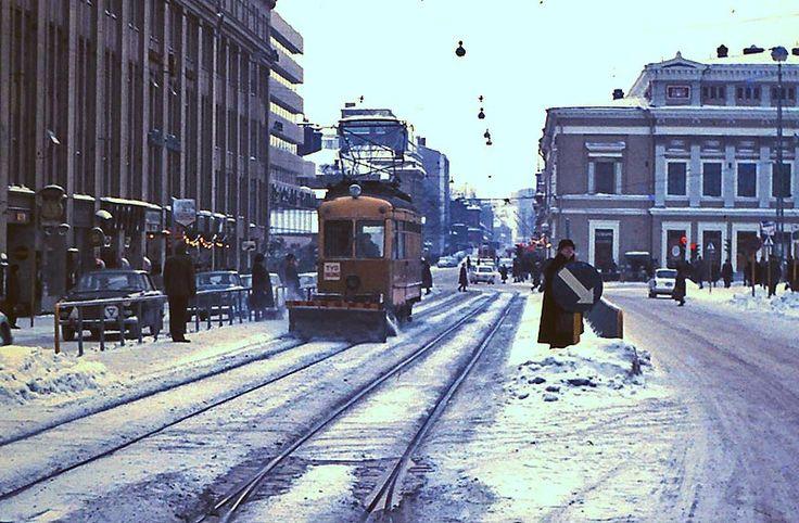 Year 1964 Market Square, Turku