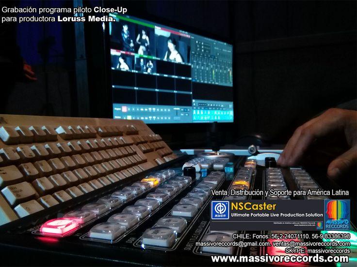 NSCaster, el sistema professional multicamara mas completo del mundo, para producción de video y TV.
